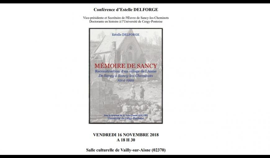 Vailly-sur-Aisne-conference-16-11-18
