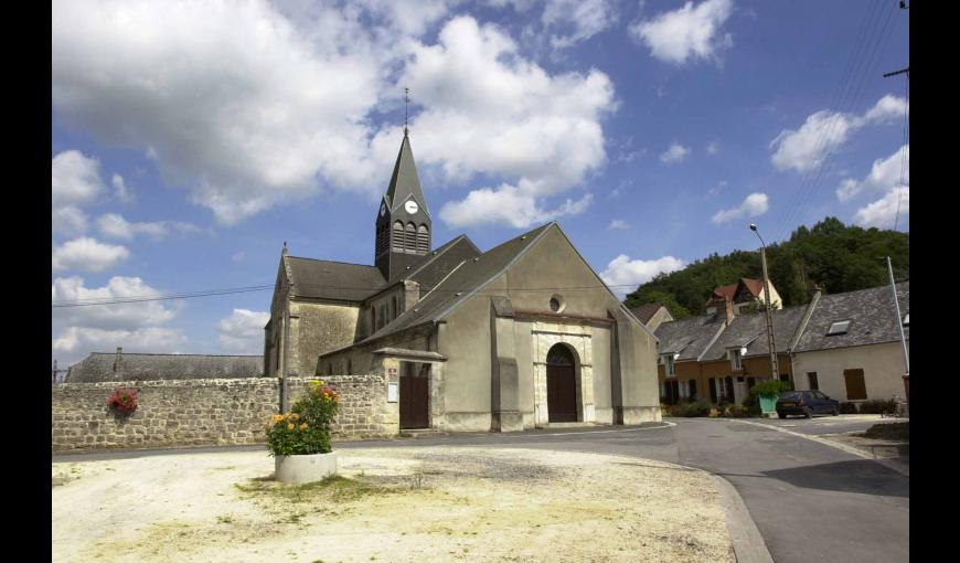 L'EGLISE DE COUCY-LES-EPPES