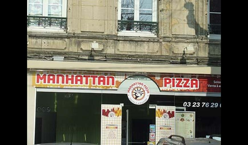 manhattan pizza Soissons < Aisne < Picardie