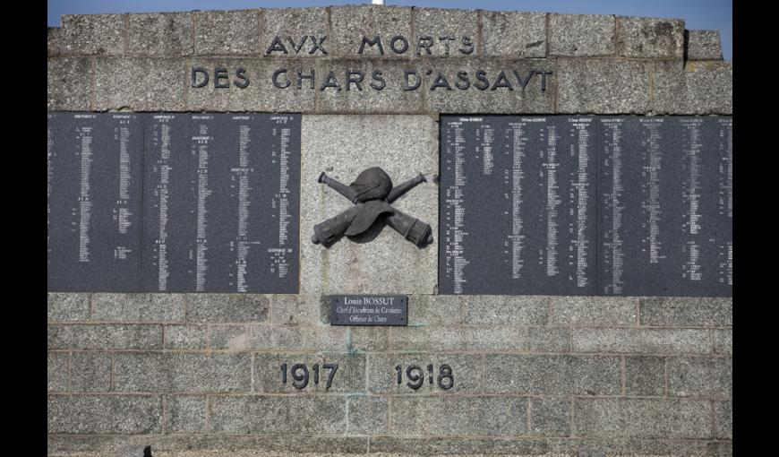 Monument national aux chars d'assaut à Berry-au-Bac (Aisne)