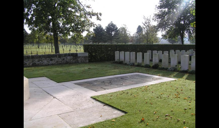 Sissonne british cemetery