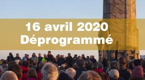 Annulation du 16 avril 2020