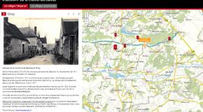 "Story-Maps ""Circuit des villages disparus du Chemin des Dames"""